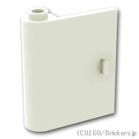 レゴ パーツ ドア 1 x 3 x 3 - 左 [White/ホワイト]   LEGO純正品の バラ 売り
