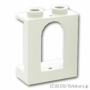 レゴ パーツ 窓枠 1 x 2 x 2 - キャッスル [ White / ホワイト ]   lego 部品 お城