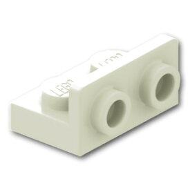 レゴ パーツ ブラケット 1 x 2/1 x 2 - 逆 [White/ホワイト]   LEGO純正品の バラ 売り
