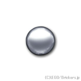 レゴ テクニック パーツ 鉄球 18mm [ Chrome Silver / クロムシルバー ]   lego
