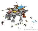 レゴ スターウォーズ/キャプテン・レックスのAT-TE【75157】