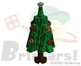 レゴ オリジナルセット ミニ クリスマスツリー (グリーン・左向き) | lego クリスマス
