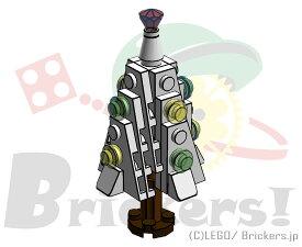 レゴ オリジナルセット ミニ クリスマスツリー (ホワイト・右向き)   lego クリスマス