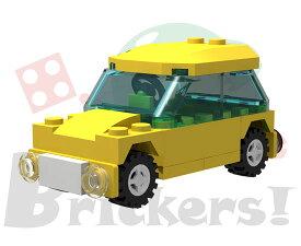 レゴ オリジナルセット/ミニフィグカート(タクシー)   LEGO BROS049