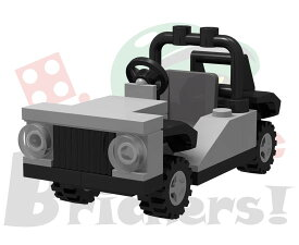 レゴ オリジナルセット/ミニフィグカート(オフロード)   LEGO BROS051