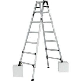 【送料無料】【直送】アルインコ 伸縮脚付はしご兼用脚立210cm PRW-210FX