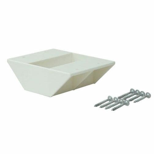 平安伸銅工業 ラブリコ LABRICO ツーバイフォー材専用 2×4棚受ダブル オフホワイト DXO-3