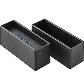 WAKAI ツーバイシックス材 2×6材専用 ディアウォールS ブラック(黒)上下パッドセット DWS26BK