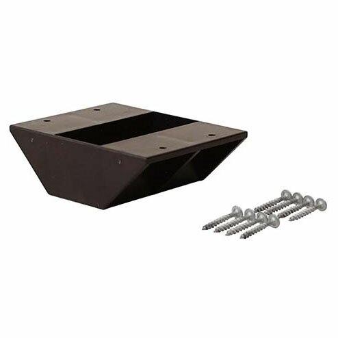 平安伸銅工業 ラブリコ LABRICO ツーバイフォー材専用壁面 2×4棚受ダブル ブロンズ DXB-3