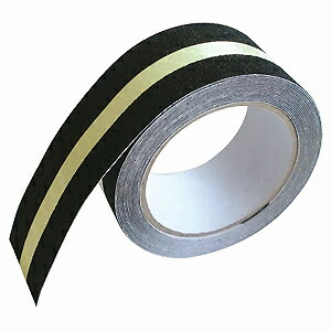 カーボーイ すべり止めテープ ZARA×2 ザラザラ 蓄光ライン 幅50mm×長さ5m