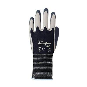 【メール便可】東和コーポレーション ActivGrip 天然ゴム手袋 XA-324 7/S