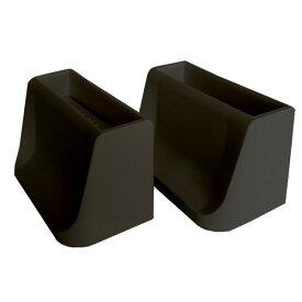 【あす楽】WAKAI ワンバイフォー材 1×4材専用壁面突っ張りシステム 1×4ディアウォール ブラック(黒)上下パッドセット DWS14BK