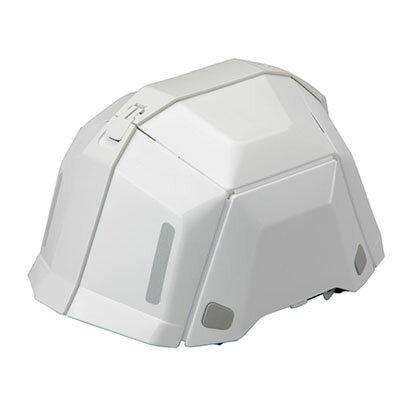 トーヨーセフティー 折りたたみヘルメット BLOOM ブルームII No.101 防災用 ホワイト