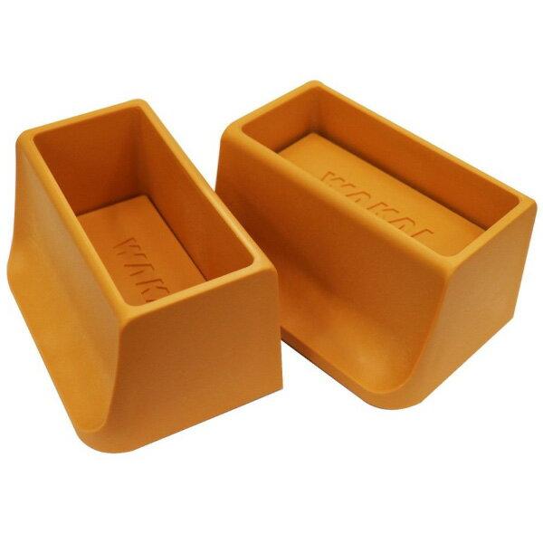 WAKAI ツーバイフォー材 2×4材専用壁面突っ張りシステム ディアウォール ライトブラウン(薄茶) 上下パッドセット DWS90LB 棚・ラック・木製 あす楽