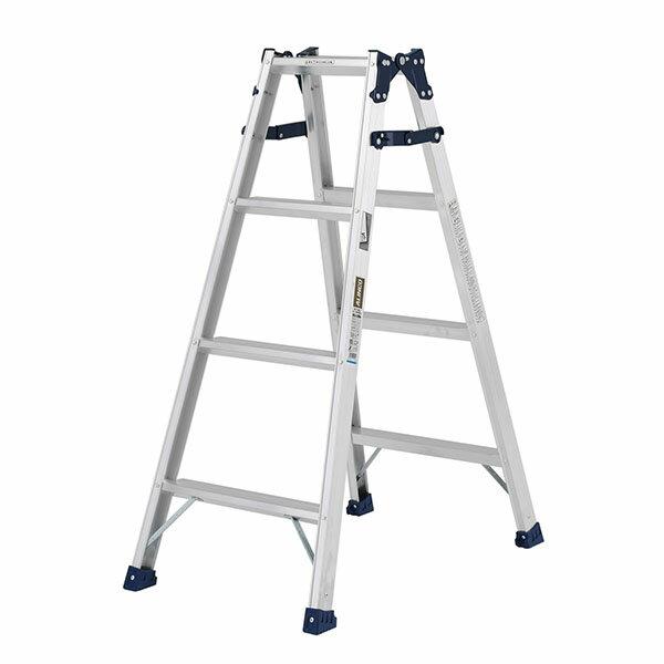 【送料無料】【直送】ALINCO アルインコ はしご兼用脚立120cm ステップ幅広 MXA-120W