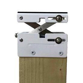 WAKI 和気産業 ウォリスト Walist ツーバイ材専用壁面 突っぱりジャッキ 白 WAT-002