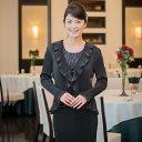 【レンタル】【送料無料】ミセスフォーマルドレス/ブラック(SP-007)結婚式母親衣装 パーティ二次会 貸衣装 お母…