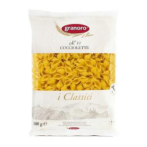 コッチョレッテ マカロニ ショートパスタ ミニパスタ イタリア産 グラノーロ 500g cocciolette pasta granoro #53 最高級セモリナ100%