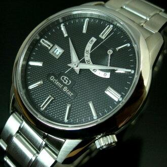 ORIENT/Orient Star 남성용 시계 자동 와인딩 파워 리 저 브 블랙 문자판 메탈 벨트 WZ0111FD (국내 정품)