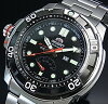 ORIENT/M-FORCE 200mDIVER's / diver men's watch automatic volume power reserve black letter Edition represent MADE IN JAPAN overseas model SEL06001B0
