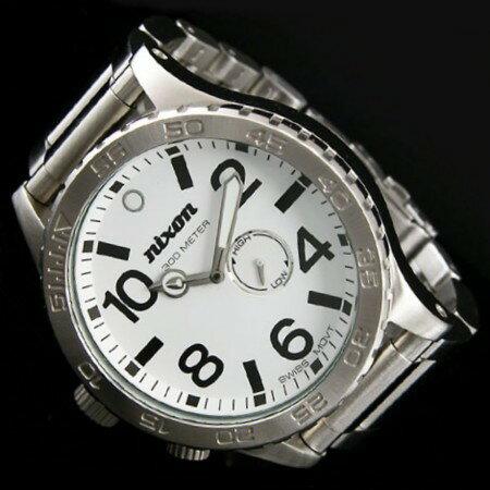 NIXON【ニクソン】THE 51-30 メンズ腕時計 WHITE ダイバーズ【送料無料】A057-100(国内正規品)