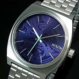 NIXON【ニクソン】TIME TELLER/タイムテラー ボーイズ 腕時計 パープル文字盤 メタルべルト【2016年新作】【送料無料】A045-230(国内正規品)