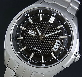 CITIZEN/Automatic automatic volume mens watch black dial metal belt NP4030-58E MADE IN JAPAN (overseas model)