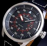 CITIZEN/Standard【シチズン/スタンダード】メンズソーラー腕時計ブラック文字盤ブラックレザーベルトAW1360-04E(海外モデル)【楽ギフ_包装選択】