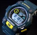 CASIO/G-SHOCK【カシオ/Gショック】メンズ腕時計 タイドグラフ&ムーンデータ搭載 ネイビー G-7900-2 海外モデル