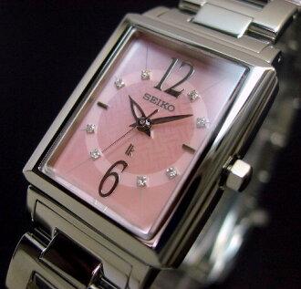 SEIKO/LUKIA 레이디스 손목시계 8 P다이어 핑크 쉘 문자판 메탈 벨트 SSVY101(국내 정규품)