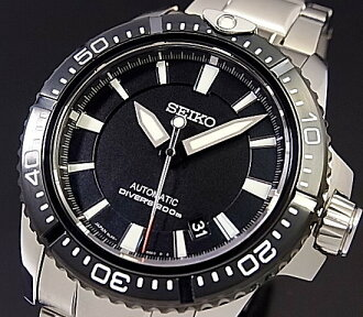 SEIKO/BRIGHTZ PHOENIX 자동권맨즈 손목시계 블랙 문자판 메탈 벨트 MADE IN JAPAN SAGQ005(국내 정규품)