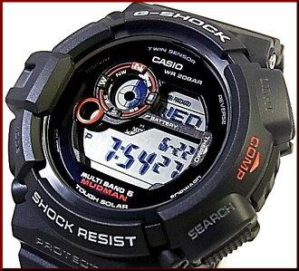 CASIO/G-SHOCK maddomansora电波手表双床房感应器搭载GW-9300-1JF(国内正规的物品)