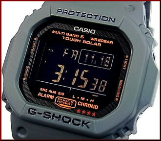 CASIO/G-SHOCK solar radio watch multiband 6 Army Green / Army Green GW-M5610KG-3JF (Japanese regular Edition)