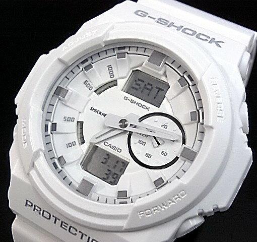 CASIO/G-SHOCK【カシオ/Gショック】アナデジ メンズ腕時計 ホワイト GA-150-7AJF(国内正規品)