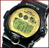 CASIO/G-SHOCK/Baby-G PA watch watch black / gold DW-6900CB-1/BG-6901-1 (overseas model)