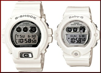 CASIO/G-SHOCK/Baby-G PA watch watches white / silver DW-6900MR-7JF/BG-6900-7JF (Japanese regular Edition)