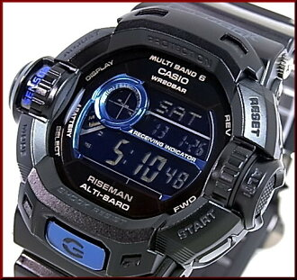 CASIO/G-SHOCK Reisman Initial Blue / Blue initials solar radio watch (Japanese regular Edition) GW-9230BJ-1JR