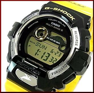 CASIO/G-SHOCK 돌고래・고래 모델 솔러 전파 손목시계(국내 정규품) GWX-8901 K-1 JR