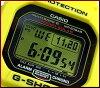 CASIO/G-SHOCK太阳能电波手表30周年纪念限定型号Lightning Yellow/闪电黄色(国内正规的物品)GW-M5630E-9JR