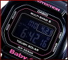GW-M5610-1BJF/BGD-5000-1JF CASIO/G-SHOCK/Baby-G PA watch solar radio watch black (Japanese regular Edition)