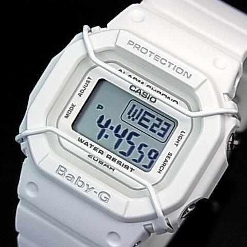 CASIO/Baby-G【カシオ/ベビーG】クラシカルデザインNewベーシックモデル レディース腕時計 ホワイト 海外モデル【並行輸入品】 BGD-501-7
