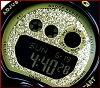CASIO/Baby-GGlitter Dial Series / glitter-dial series Womens watch black / gold BG-6900SG-1 (overseas model)