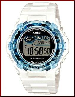 BGR-3005K-7JR CASIO/Baby-G dolphins cusilamodel solar radio watch women's White (Japanese regular Edition)