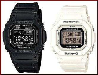 GW-m0610-1bjf/BGD-0000-7jf 卡西欧/G-休克/宝贝-G PA 太阳射电腕表黑色 / 白色 (普通住宅)