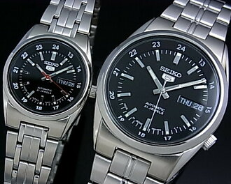 Seiko/SEIKO5 palocci automatic winding watch metal belt black letter Edition JAPAN MADE SNK567J1/SYMB99J1 (international model)
