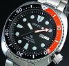 Seiko/PROSPEX/200 m diver's watch automatic black / red bezel Men's watch Stainless steel band black dial reverse import model SRP789K1