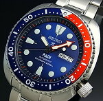 SEIKO/PROSPEX/200mdiver'swatch【セイコー/プロスペックス/200m防水ダイバーズ】PADISpecialEdition自動巻ネイビー/レッドベゼルメンズ腕時計メタルベルトネイビー文字盤海外モデルSRPA21K1