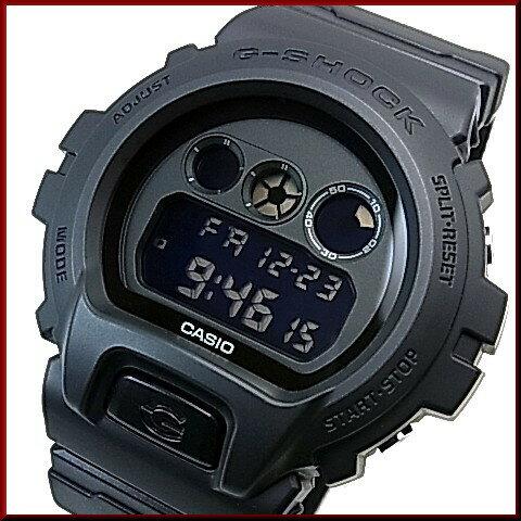 CASIO/G-SHOCK【カシオ/Gショック】Military Black/ミリタリーブラック ブラック クロスバンド 海外モデル【並行輸入品】 DW-6900BBN-1