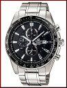CASIO/EDIFICE【カシオ/エディフィス】クロノグラフ メンズ腕時計 ブラック文字盤 メタルベルト EF-547D-1A1 海外モデル