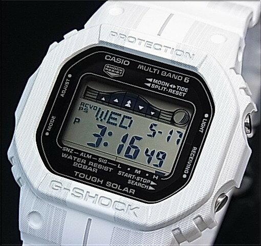 CASIO/G-SHOCK【カシオ/Gショック】G-LIDE/Gライド ソーラー電波腕時計 ホワイト 海外モデル【並行輸入品】GWX-5600WA-7